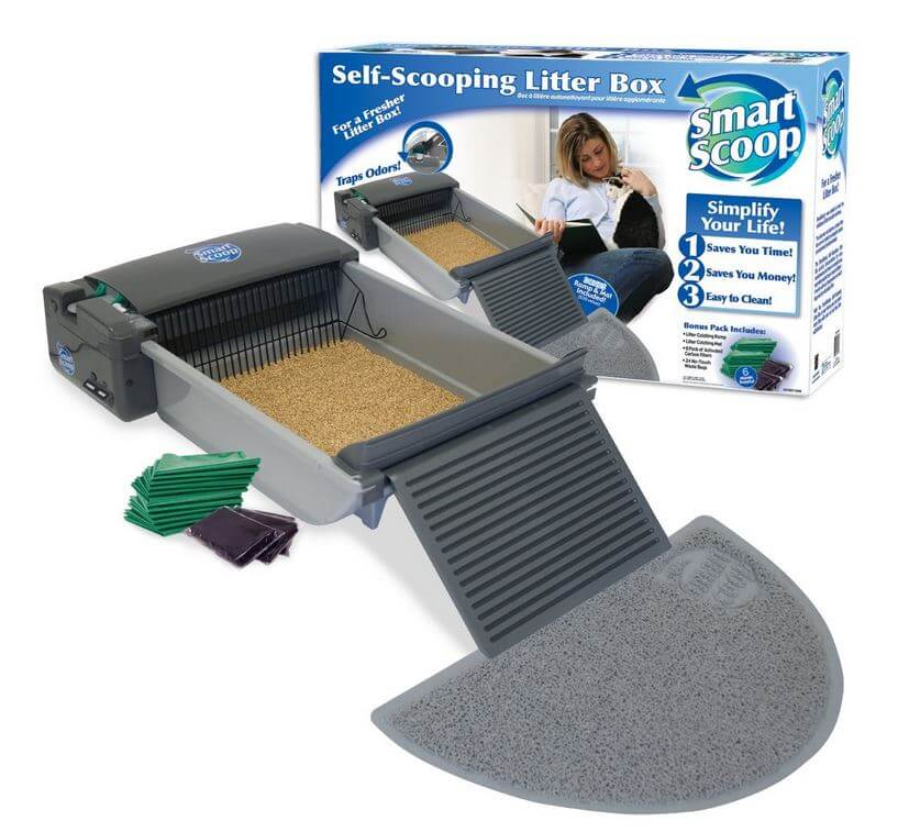 Smartscoop Automatic Self Cleaning Litter Box