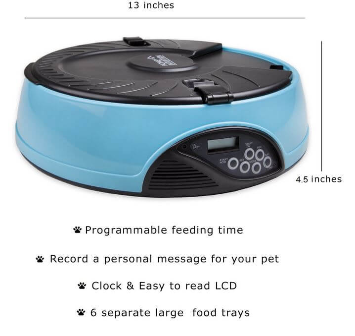 Home Intuition Automatic Pet Feeder-3